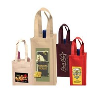 High quality promotional non woven bag for wine