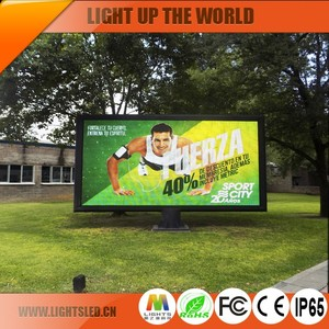 P10 Smd Outdoor Led Banner Large Screen Display,Outdoor Led Clock Time Date Temperature Sign