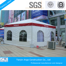 4mx4m popular reception pagoda tent with PVC roof cover