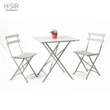Garden furniture portable folding table and chair set