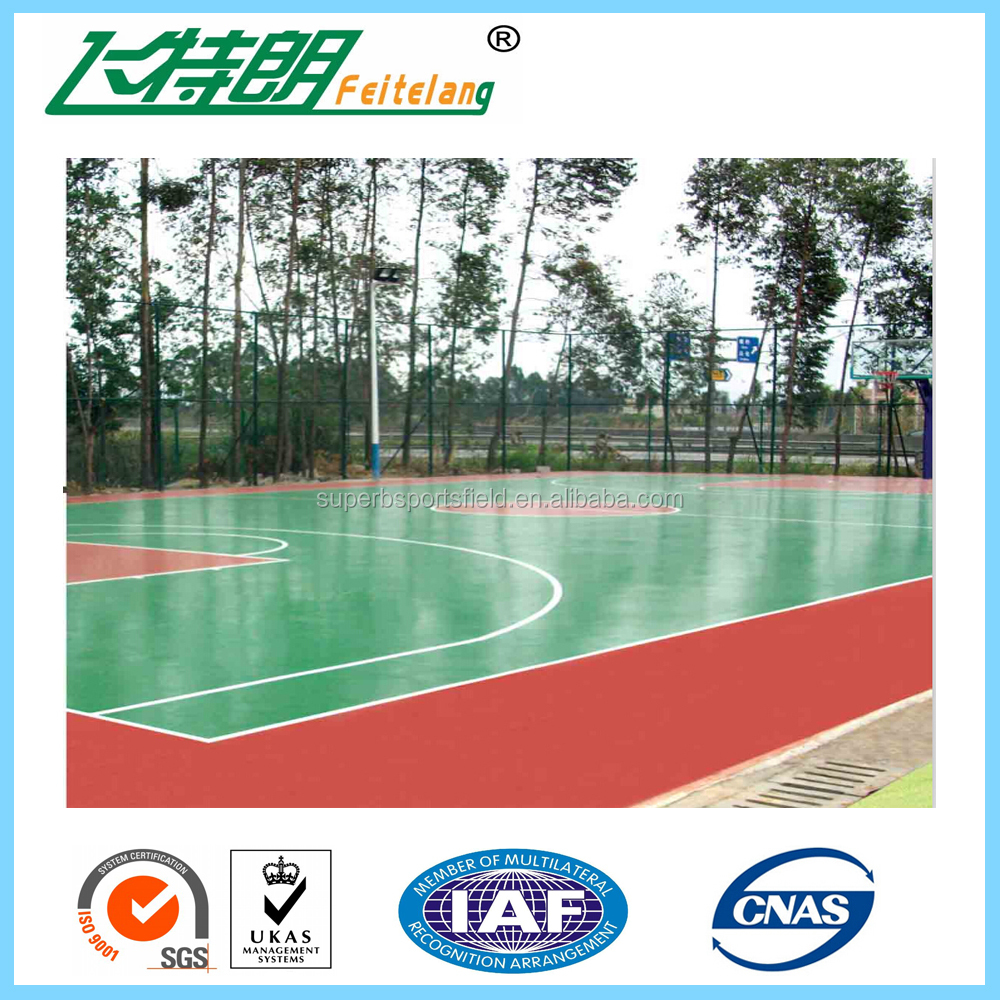High Performance Tennis Sport Court Surface Standard Athletic Court Paint