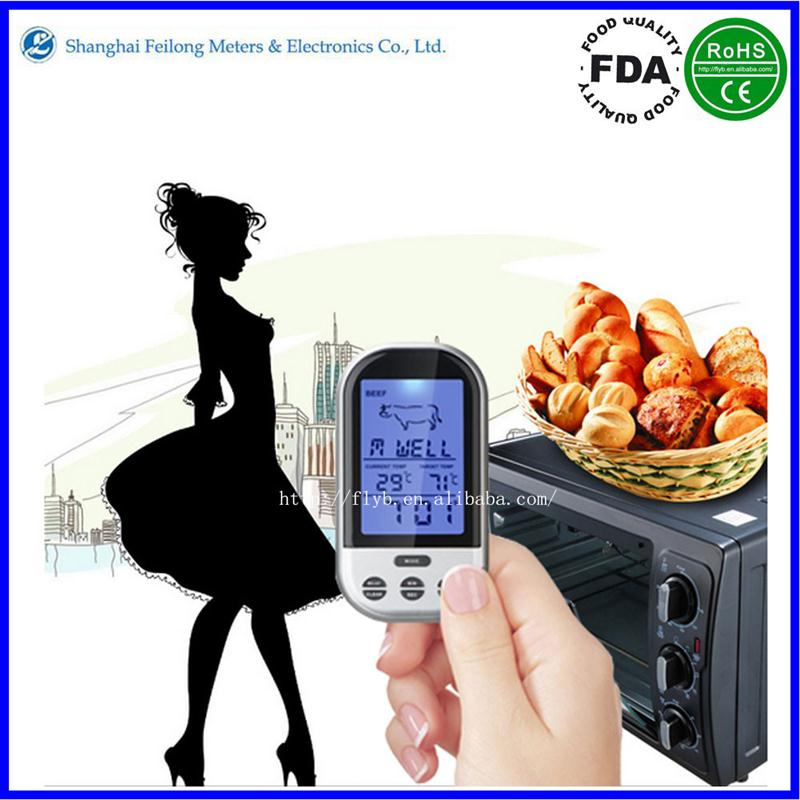 mini fast food kitchen design microwave meat thermometer cooking digital thermometer
