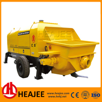 Chinese mobile concrete pump grout electric fuel pump for sale