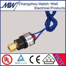 Eng.thread quick connector manual reset or automatic pump pressure switch with free sample