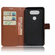 Shockproof leather cell phone case back cover for lg v20