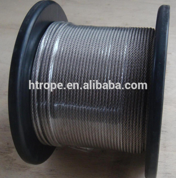 Professional 7x7 galvanized steel wire rope for sale