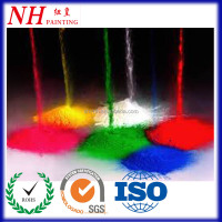 RAL Color Non-toxic Metal Furniture epoxy Powder Coating