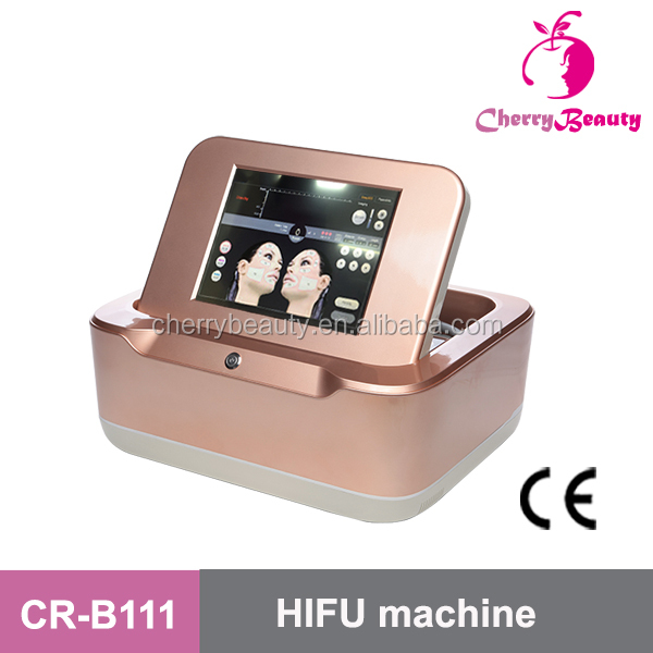 hifu cartridge focused ultrasound hifu body and face lifting machine