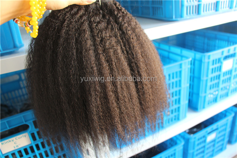 Unprocessed High Quality 100% Brazilian Human Hair Sew In Weave