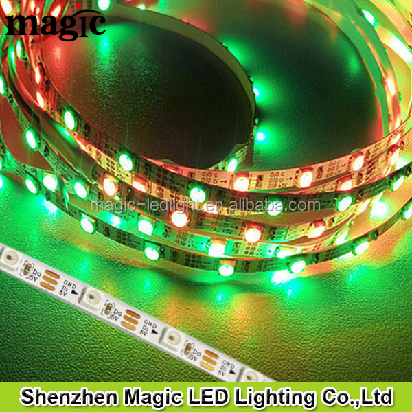 4mm width 60leds/m 60pixel/m Small led lights china products prices 5v sk6812 SMD 3535 addressable led strip