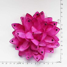 hand make fabric flowers brooch for wedding party
