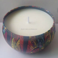 Shenzhen Lihome custom home fragrance scented tin candles