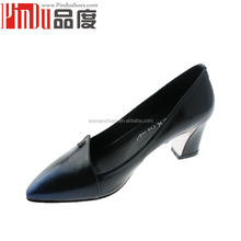PD002 hot sale high heel factory manufacturer wholesale handmade women leather lady heel shoe