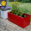 Outdoor Home Garden Red Waterproof Rust