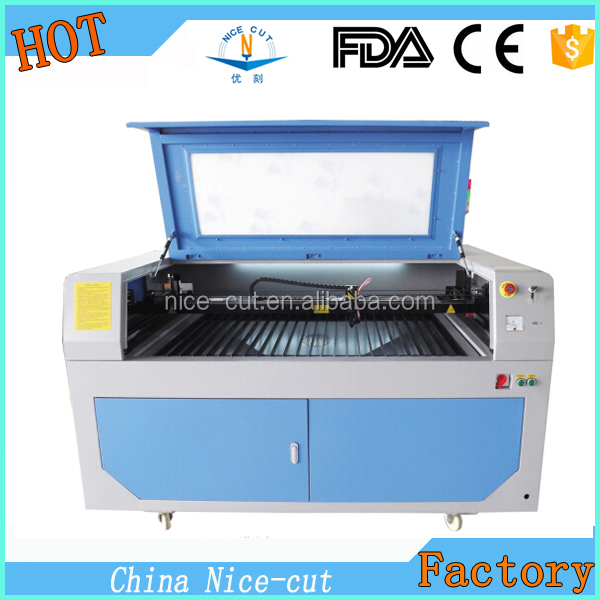 NC-1290 CNC CO2 Laser Cutting Machine Price With Reci Laser Tube paintball gun laser engraver