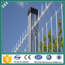 10 Years Warranty Galvanized Painting Welded Mesh Fence