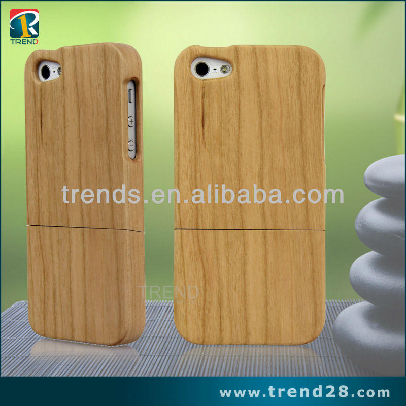 "New wooden hard case for apple iphone 5"" original"