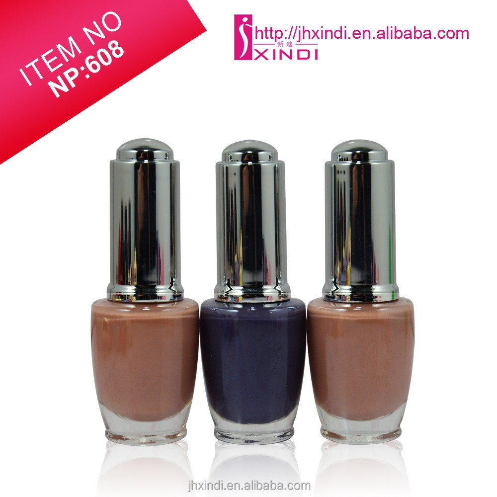Factory Private Label Nude Color Series Natural Color Series Nail Polish