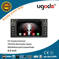 China factory bluetooth MP3 player car dvd player for toyota corolla 2006 2005 2004 2003 2002 2001