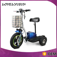Professional Tricycle Bycicle Electric Scooter 3 Wheel Adult