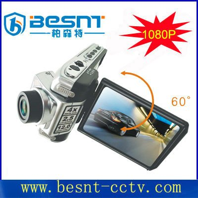 2.4inch screen camera for car record 4X digital zoom car camcorder BS-CJ08