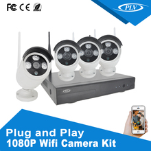Security system 8CH 4CH 720P 960P 1080P Wireless NVR Kit smallest wireless cctv camera