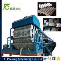 Automatic rotary type chicken farm egg tray forming machine egg tray machine production line