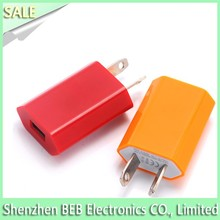 5V 1A slim usb wall charger for iphone 6 iphone 6s mobile charger 2016
