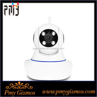 Wireless Wired MINI 2mp Outdoor Dome PTZ IP Camera Audio Input Output,IP Megapixel Camera