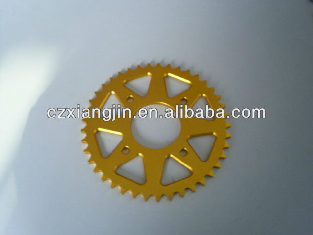 CNC aluminum alloy motorcycle small sprockets