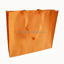 eco-friendly recycled silk screan printing promotional shopping cheap non woven bag
