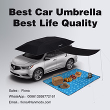 Patent holder Lanmodo 2nd generation Oxford Canopy Funny Car Sunshade Smart Remote Control Automatic Car Sunshade