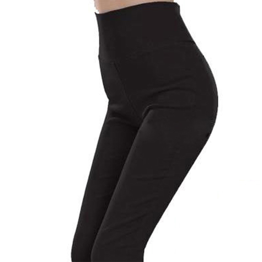 4d21fe7343b Get Quotations · L-3XL plus size spring casual sexy tight candy color black  elastic high waist skinny