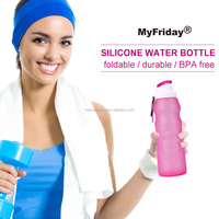 LSR medical grade liquid silicone sport cheap water bottles for kids
