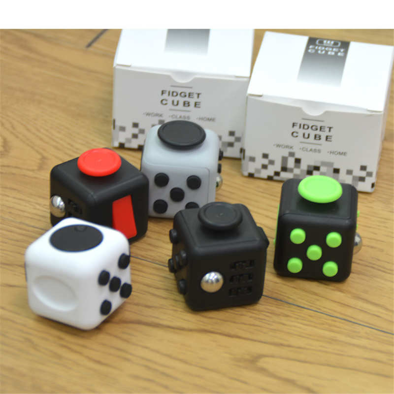 2017 Hot Mini Desk Magic Fidget Cube Toy Kickstarter Anti Stress Decompression Toys