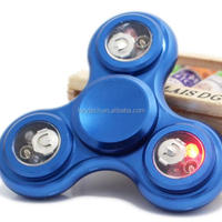 New Trending Led Fidget Spinner Metal