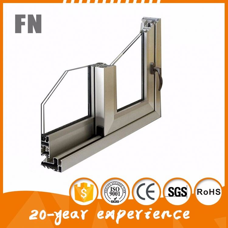 powder coating plant aluminum window frames material sash track channel