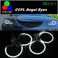 Beautiful in colors CCFL Angel eye for M3 M4 Mazda w special cars headlight with s25 angel eyes