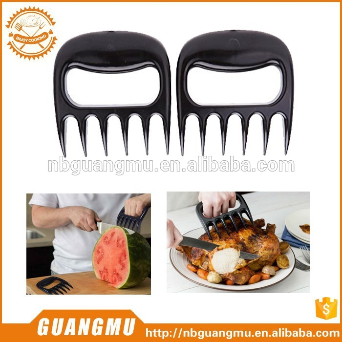bear paws claws meat handler fork tongs lift shred pork bbq bbq grill tools for wholesales