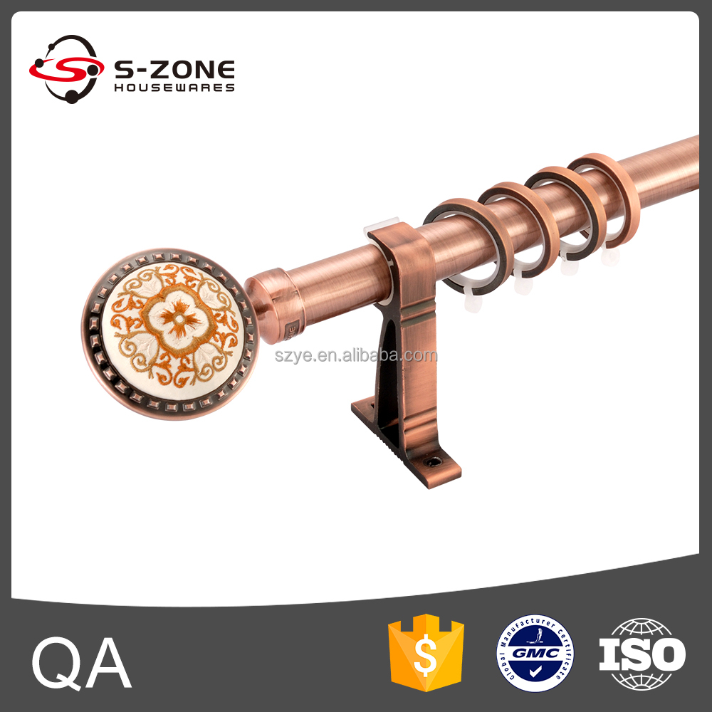 Copper Curtain Rod Spring Loaded Curtain Rods Stainless Steel Curtain Pole Buy