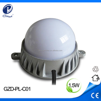 1.5W multi-color decorate led point light rgb light for outdoor buildings