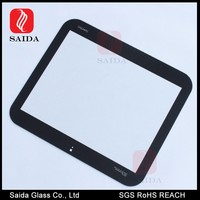 1mm silk screen printing chemical tempered touch glass