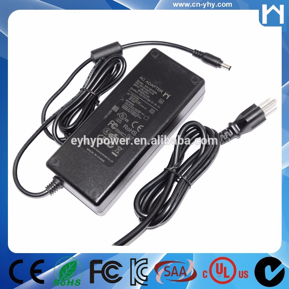 Hot selling 12V 10A power adapter for IT equipment