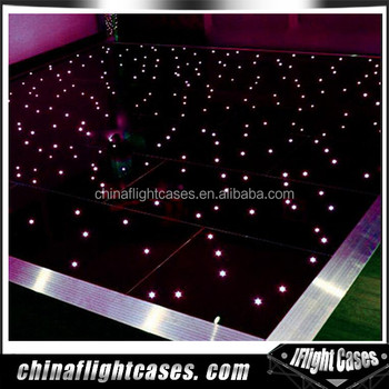 Cheap white dance floor event and party decor