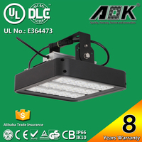 100w led flood light led flood light 100w high bay induction industrial warehouse gas station lighting