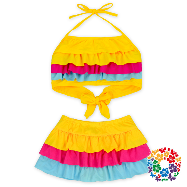 Cute Baby Girl Bikini Kids Swimwears Beautiful Little Girls Swimsuit Kids Branded Swimwear Wholesale Swimsuits For 6 Year Old