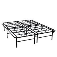 Heavy Duty Steel Folding Platform Bed Easy Assemble Mattress Foundation 14.5 inch Height Platform Base
