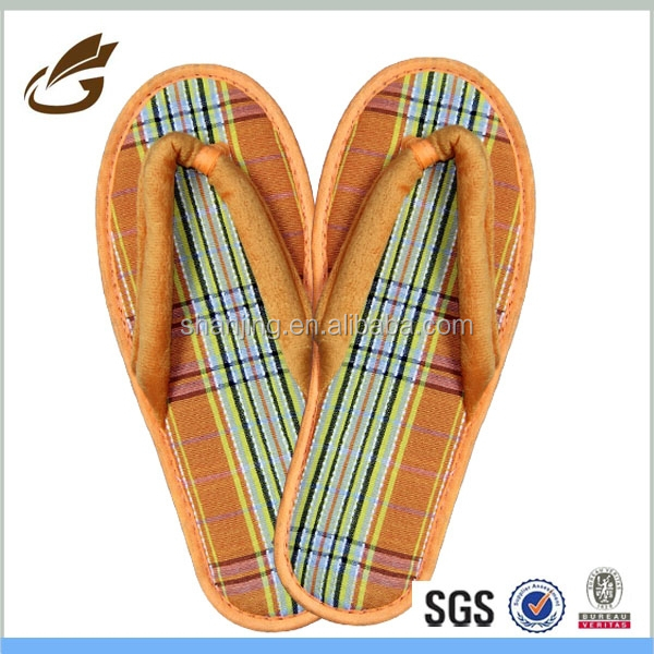 china eva soft sole flip flop indoor slipper for woman and man