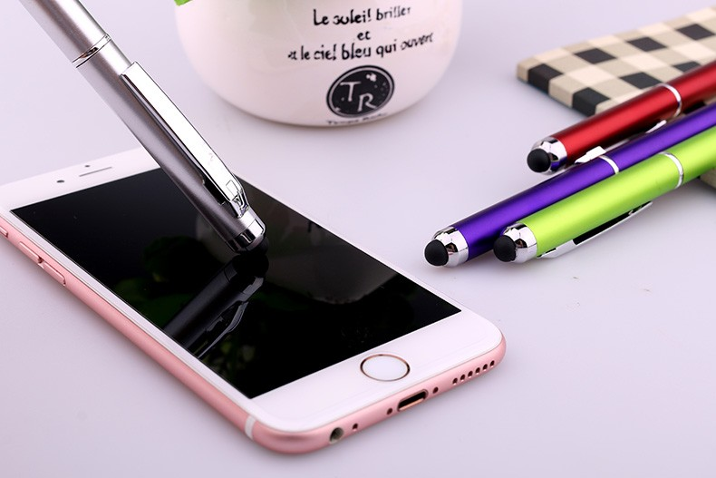 Students stationery gift pen plastic roller pen parker touch screen ball pens for Samsung galaxy S6