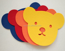 Wholesale felt craft shapes for kids Christmas decoration ,animal,angel ,heart ,star shapes